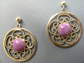 Filigree & Sugilite by Brad Smith