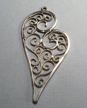 Filigree Pendant by Brad Smith